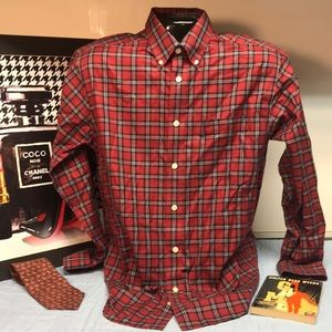 Orvis Medium Casual Long Sleeve Shirt